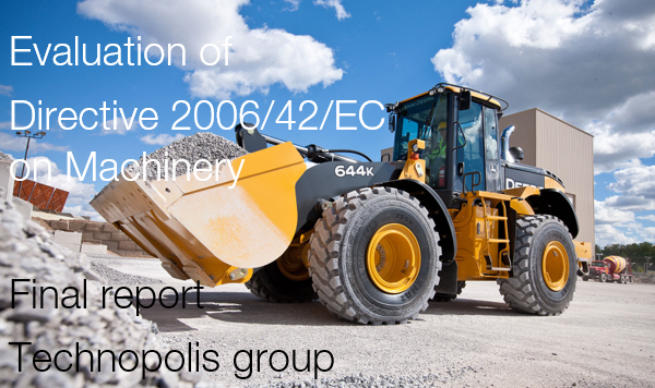 Evaluation of Directive 2006/42/EC on Machinery